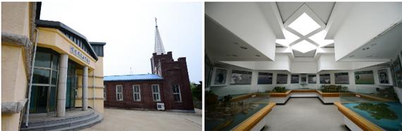 백령기독교역사관과 중화동교회 백령기독교역사관 내부