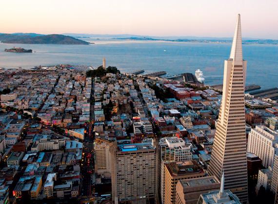 샌프란시스코의 전경