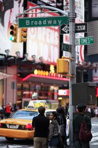 뉴욕의 거리