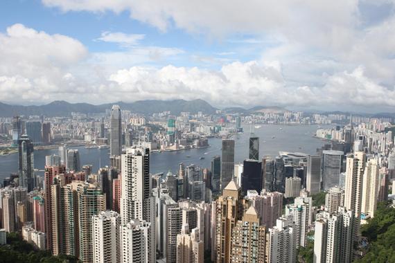홍콩의 전경