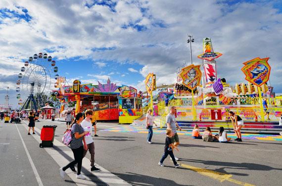 ?호주를 대표하는 축제인 로열 이스터쇼.