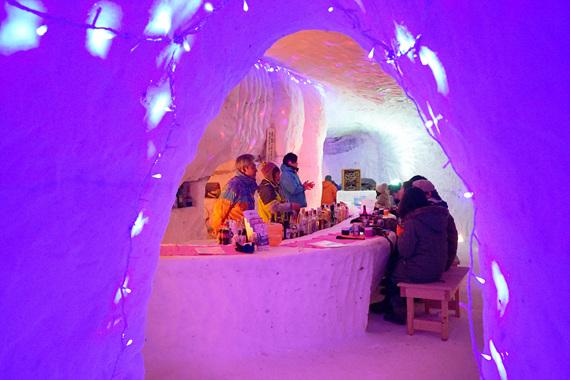 도와다호 겨울축제
