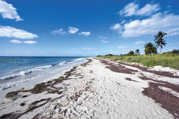 하늘과 맞닿아 있는 플로리다 키웨스트의 해변. 천국이란 게 지상에 존재한다면 바로 이곳이 아닐까.