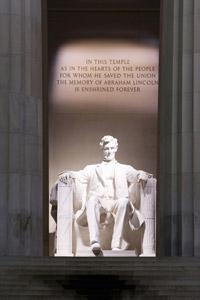 링컨 조각상