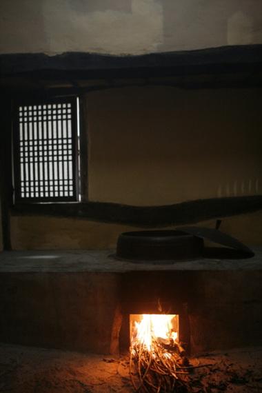 우구정 가옥 부엌과 아궁이