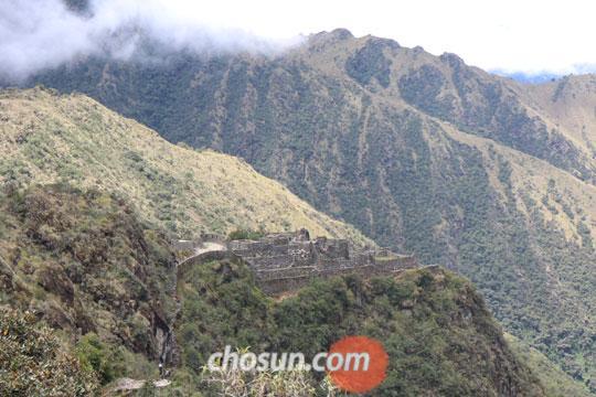 가장 완벽하게 보존된 잉카 유적으로 꼽히는 사야크 마르