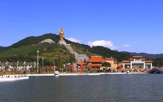 닝샹 밀인사 전경