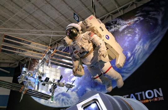 미국 휴스턴의 미 항공우주국(NASA) 존슨우주센터.