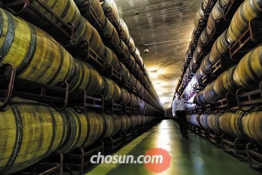 리오하 와인은 오크향이 강한 것이 특징이다.