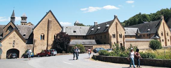 벨기에 남단에 있는 오르발 수도원. 맥주 마니아들이 성지로 여기는 트라피스트 수도원 맥주 양조장 중 하나다.