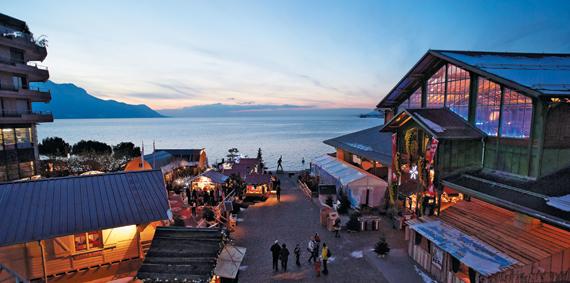 스위스 휴양지 몽트뢰