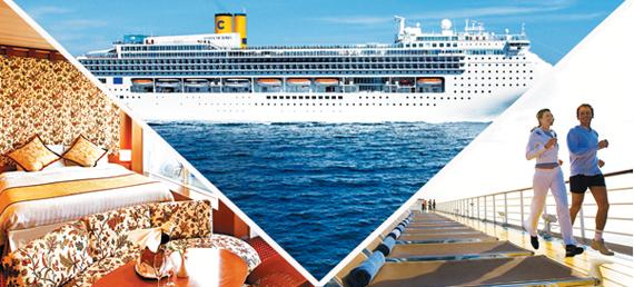 크루즈선 코스타 빅토리아호는 오는 5월 동해항에서 러시아 블라디보스토크와 일본 홋카이도로 가는 7박 8일 일정을 시작한다.