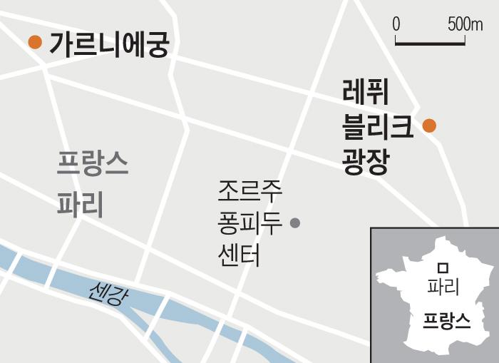 가르니에궁/레퓌블리크 광장
